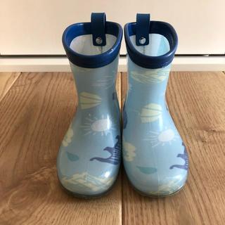 アンパサンド(ampersand)の★最終価格★ 長靴 ブルー 14cm(長靴/レインシューズ)