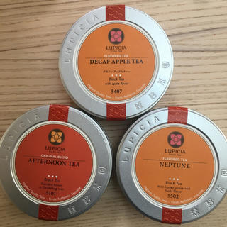 ルピシア(LUPICIA)のルピシア  フレーバー紅茶  3缶(茶)