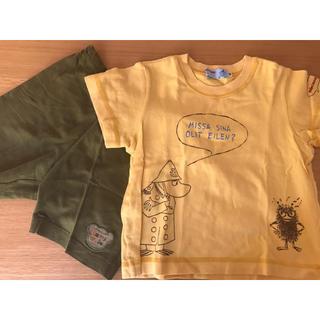 ファミリア(familiar)のファミリア短パン&ミキハウスTシャツ(Tシャツ/カットソー)