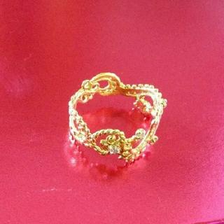 カオル(KAORU)のibukino663様専用   KAORU K18 ダイヤモンドスワトウリング(リング(指輪))