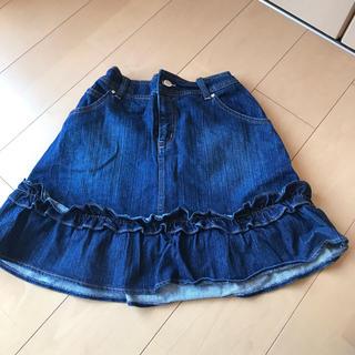 バービー(Barbie)のBarbie デニムスカート サイズ2 160センチ(スカート)