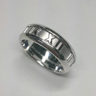 ティファニー(Tiffany & Co.)のhanakuma様専用 ティファニー アトラス リング K18WG 15号(リング(指輪))