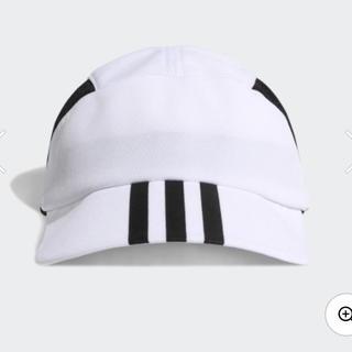 アディダス(adidas)のadidas サイドメッシュキャップ  White キッズ サッカー(帽子)
