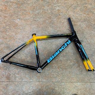 ビアンキ(Bianchi)のビアンキ フェニーチェプロ アルミフレーム 47サイズ(軽量スカンジウムアルミ)(自転車本体)