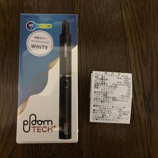 プルームテック(PloomTECH)の【タイトル】 【新品未開封】Ploom TECH+(プルームテックプラス)白(タバコグッズ)