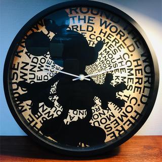 フランフラン(Francfranc)のフランフラン ミッキーの掛け時計 故障しています ジャンク品(掛時計/柱時計)