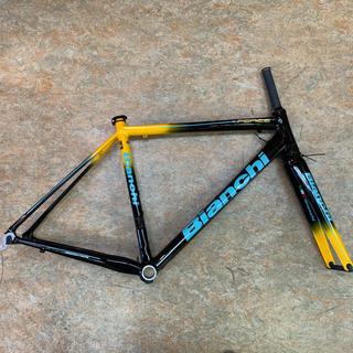 ビアンキ(Bianchi)のビアンキ フェニーチェプロ アルミフレーム 55サイズ(軽量スカンジウムアルミ)(自転車本体)