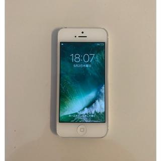 アイフォーン(iPhone)のiPhone 5 White au(携帯電話本体)