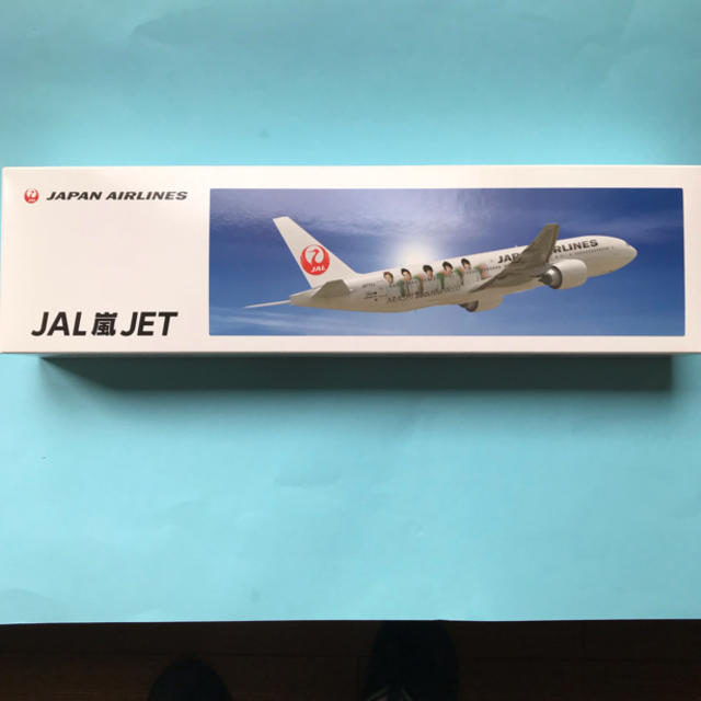 JAL(日本航空)(ジャル(ニホンコウクウ))のモデルプレーン JAL嵐ジェット エンタメ/ホビーのおもちゃ/ぬいぐるみ(模型/プラモデル)の商品写真