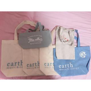 アースミュージックアンドエコロジー(earth music & ecology)のearth music&ecology ショッパー(ショップ袋)