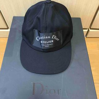 ディオールオム(DIOR HOMME)の正規 18SS Dior Homme ディオールオム アトリエ ロゴ キャップ(キャップ)