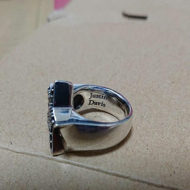 Justin Davis(ジャスティンデイビス)のJustin Davis リング シルバースター 925 メンズのアクセサリー(リング(指輪))の商品写真