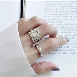 ザラ(ZARA)のインポート シルバー925 デザインリング 11~13(リング(指輪))