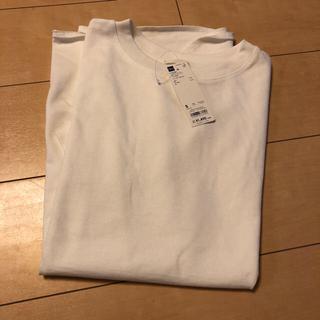 ジーユー(GU)の発送前セール♥︎GU ヘビーウェイトオーバーサイズT 五分袖 S(Tシャツ(長袖/七分))