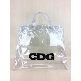bc4b86313595 コムデギャルソン(COMME des GARCONS)のCDG トートバッグ PVC 確実正規品 新品同様