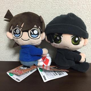 名探偵コナン くっつきぬいぐるみ セット(キャラクターグッズ)