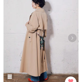 レディメイド(LADY MADE)の新品・タグ付き☆スカーフベルトフレアトレンチ(トレンチコート)