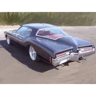 シボレー(Chevrolet)の超希少 米国車 ビュイック リヴィエラ 旧車 エンブレム (車種別パーツ)