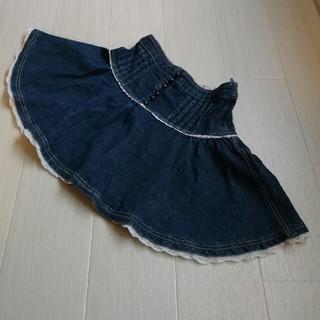 ジルスチュアート(JILLSTUART)のJILLSTUART☆キッズ デニム スカート 110センチ(スカート)