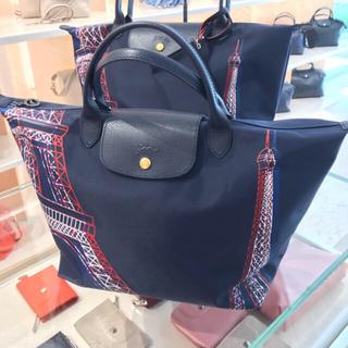 2206983c4bdc ロンシャン(LONGCHAMP)のCA様専用 ♡最安値 Mサイズ Longchamp エッフェル塔