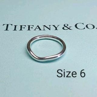 ティファニー(Tiffany & Co.)のあみんこ 様専用出品 ティファニー カーブドバンドリング(リング(指輪))