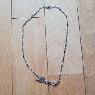 シマムラ(しまむら)のロゴ入りネックレス(ネックレス)