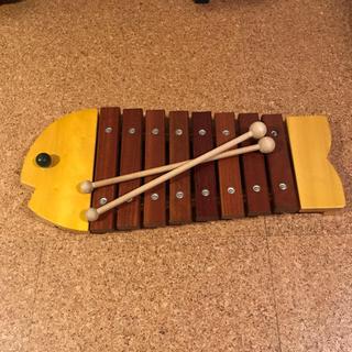 ボーネルンド(BorneLund)のボーネルンド おさかなシロフォン(楽器のおもちゃ)