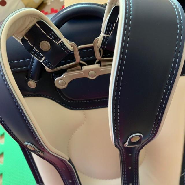 コクヨ(コクヨ)の【未使用】コクヨ ウキウキ ランドセル ネイビー キッズ/ベビー/マタニティのこども用バッグ(ランドセル)の商品写真