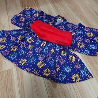 アンパサンド(ampersand)のハウディードゥーディーズ 浴衣ワンピース 110(甚平/浴衣)