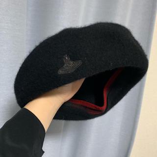 ヴィヴィアンウエストウッド(Vivienne Westwood)のVivienne ベレー帽(ハンチング/ベレー帽)
