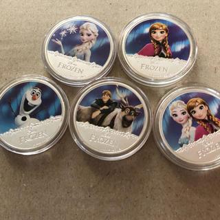 ディズニー(Disney)のD'isneyアナ雪クック諸島記念硬貨(貨幣)
