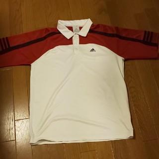 アディダス(adidas)のadidas メンズ テニス シャツ Lサイズ(ウェア)