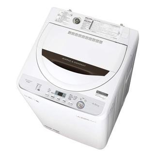シャープ(SHARP)の2019年製SHARP 洗濯機 新品未使用(洗濯機)