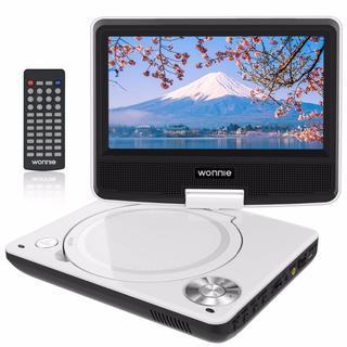 ポータブルDVDプレーヤー 7.5インチ テレビ接続可能