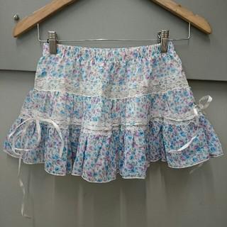 リズリサ(LIZ LISA)のLIZ LISA☆小花柄スカート(ミニスカート)