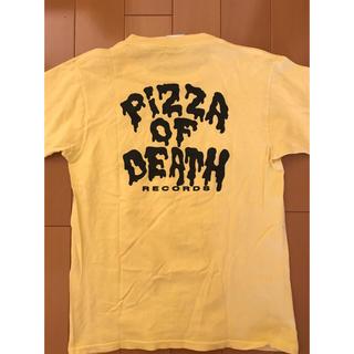 ハイスタンダード(HIGH!STANDARD)のpizza of death Tシャツ メンズS(Tシャツ/カットソー(半袖/袖なし))