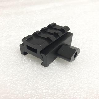 ロング追加 メタル製 12mmUP ベースマウント スコープ ドットサイト ハ(モデルガン)