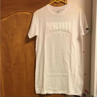 エックスガール(X-girl)のx-girl ロング丈 ティシャツ(Tシャツ(半袖/袖なし))