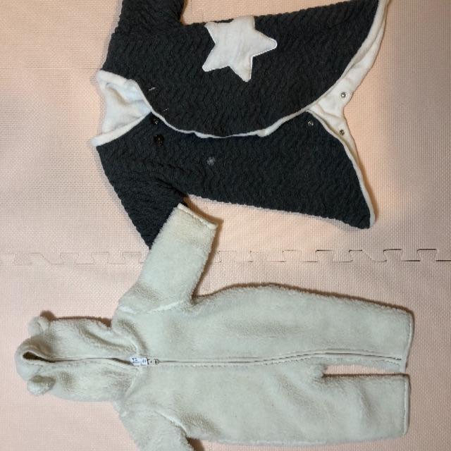 ampersand(アンパサンド)のベビーカバーオール(3m-6m, 70) GAP, ampersand キッズ/ベビー/マタニティのベビー服(~85cm)(ジャケット/コート)の商品写真