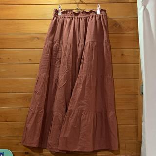 ディスコート(Discoat)のdiscoat 2段階切り替えフレアスカート(ロングスカート)