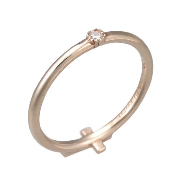 K10YGピンキーリング レディースのアクセサリー(リング(指輪))の商品写真