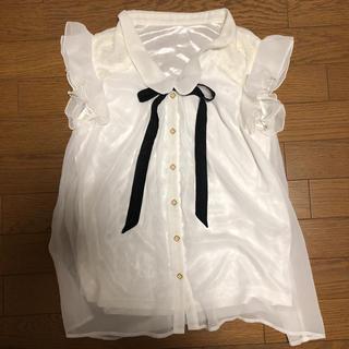 シマムラ(しまむら)のレディーストップス(カットソー(半袖/袖なし))