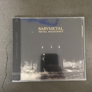 ベビーメタル(BABYMETAL)の初回生産限定BABYMETAL CD+DVD METAL RESISTANCE (ポップス/ロック(邦楽))