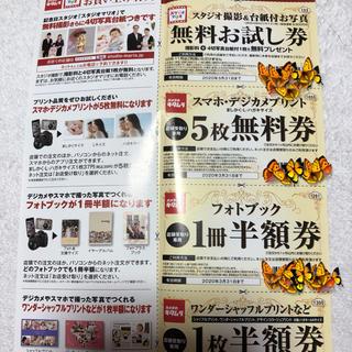 キタムラ(Kitamura)のスタジオマリオ カメラのキタムラ 無料お試し券 クーポン 4枚セット(その他)