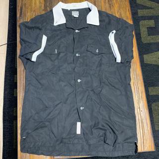 デラックス(DELUXE)のDELUXE デラックス ボーリングシャツ size XL 42(シャツ/ブラウス(半袖/袖なし))