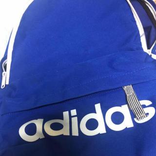 アディダス(adidas)のadidas リュック 青(バッグパック/リュック)