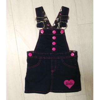 バービー(Barbie)のBarbieバービー/ジャンパースカート美品/90cm(ワンピース)