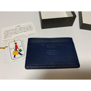 ポーター(PORTER)の【新品未使用】ポーター カードケース 定期入れ(名刺入れ/定期入れ)