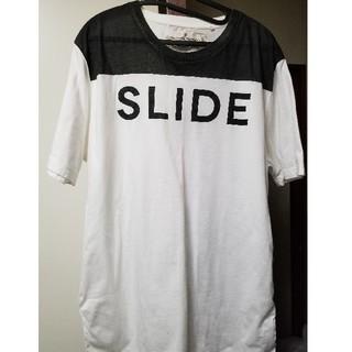 ゴールデングース(GOLDEN GOOSE)のGOLDEN GOOSE DELUX BRAND ロゴTシャツ (Tシャツ(半袖/袖なし))