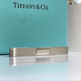 ティファニー(Tiffany & Co.)のティファニー SV925 鏡面 ネクタイピン タイピン タイバー (ネクタイピン)